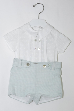 Foque White & Mint Outfit - Product List Image