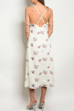 Honey Punch White Off Midi Dress - Alternate List Image
