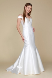 NOX A N A B E L White Off Shoulder Fit & Flare Bridal Gown - Product Mini Image