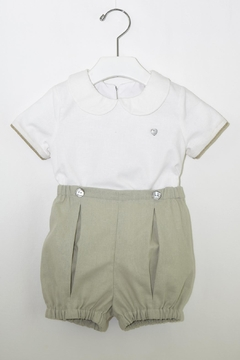 Shoptiques Product: White & Olive Outfit