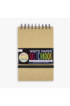 Ooly White DIY Cover Sketchbook - Small - Product List Image