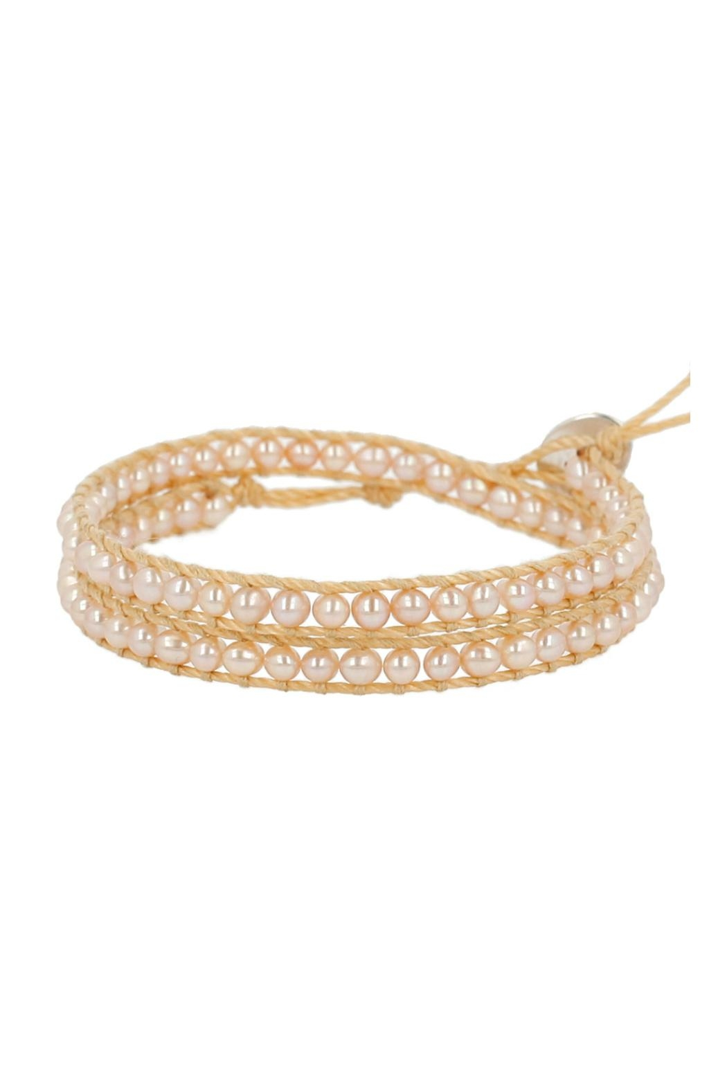 Chan Luu White Pearl Bracelet Front Cropped Image