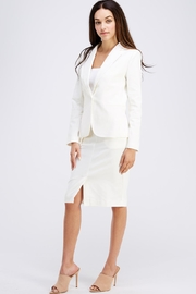 OVI White Pencil Skirt - Side cropped