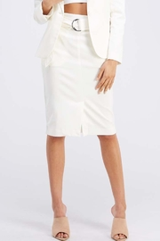 OVI White Pencil Skirt - Product Mini Image