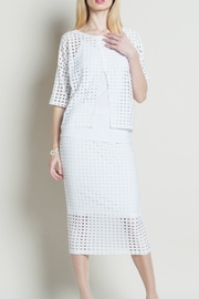Clara Sunwoo White Perforated Reversible - Product Mini Image