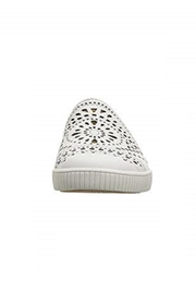 Earth White Perforated Sneaker - Other