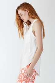 Another Love White Pocket Tank - Product Mini Image