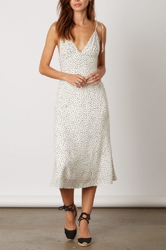 Cotton Candy LA White Polka-Dot Dress - Product List Image