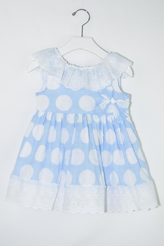Shoptiques Product: White Polkadots Dress