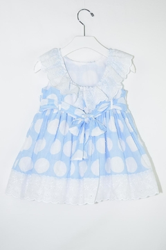 Dolce Petit White Polkadots Dress - Alternate List Image