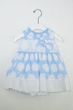 Dolce Petit White Polkadots Dress - Product List Image