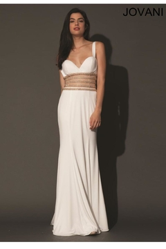 Jovani PROM White Prom Gown - Product List Image