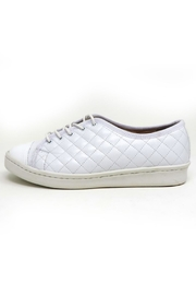 Paul Mayer White Quilted Sneakers - Product Mini Image