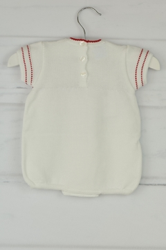 Granlei 1980 White & Red Onesie - Alternate List Image