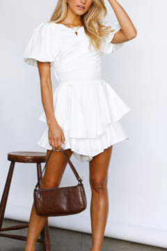 ONE AND ONLY COLLECTIVE White Romper - Alternate List Image