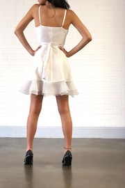 one & only White Ruffle Dress - Side cropped
