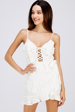 Shoptiques Product: White Ruffle Dress