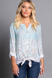 Multiples White Sands Blouse - Front cropped