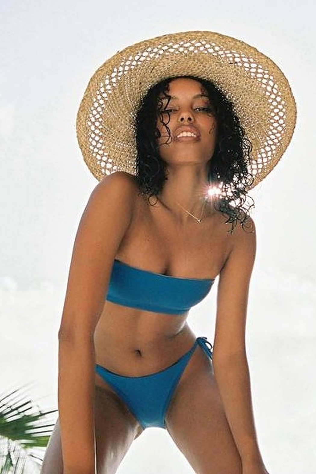 O'Neill White Sands Straw Hat - Front Cropped Image