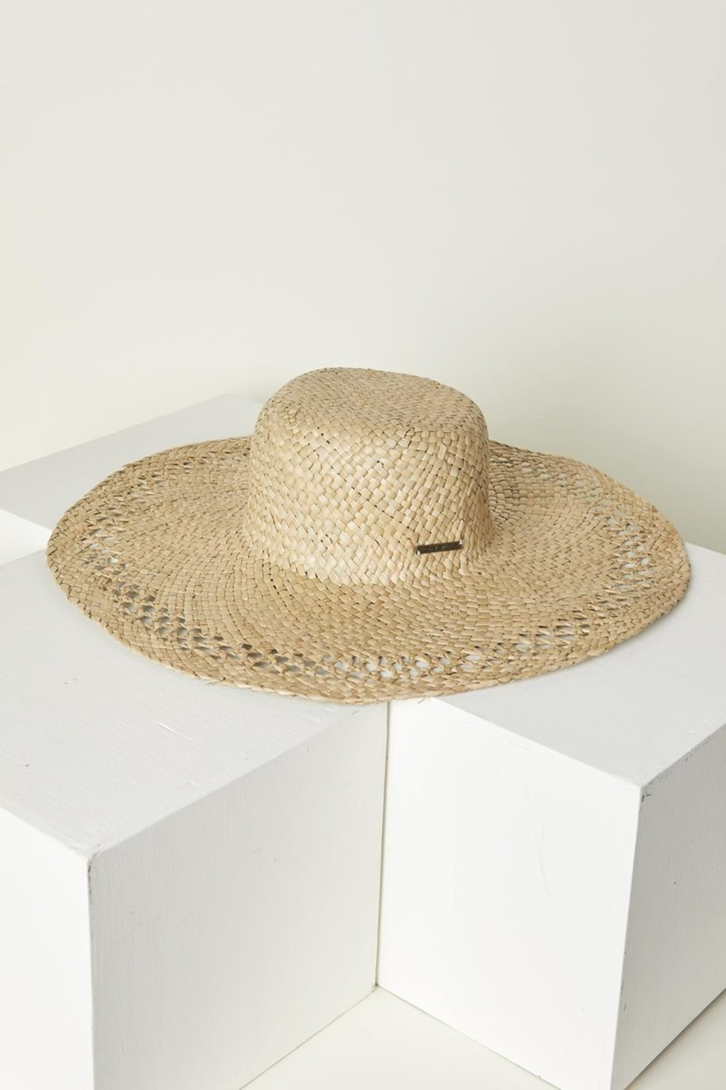 O'Neill White Sands Straw Hat - Front Full Image