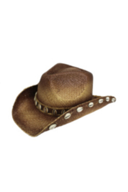 Peter Grimm White Shell Hat - Product Mini Image
