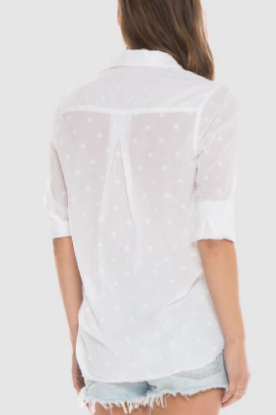 Bella Dahl White Shirt - Side Cropped Image