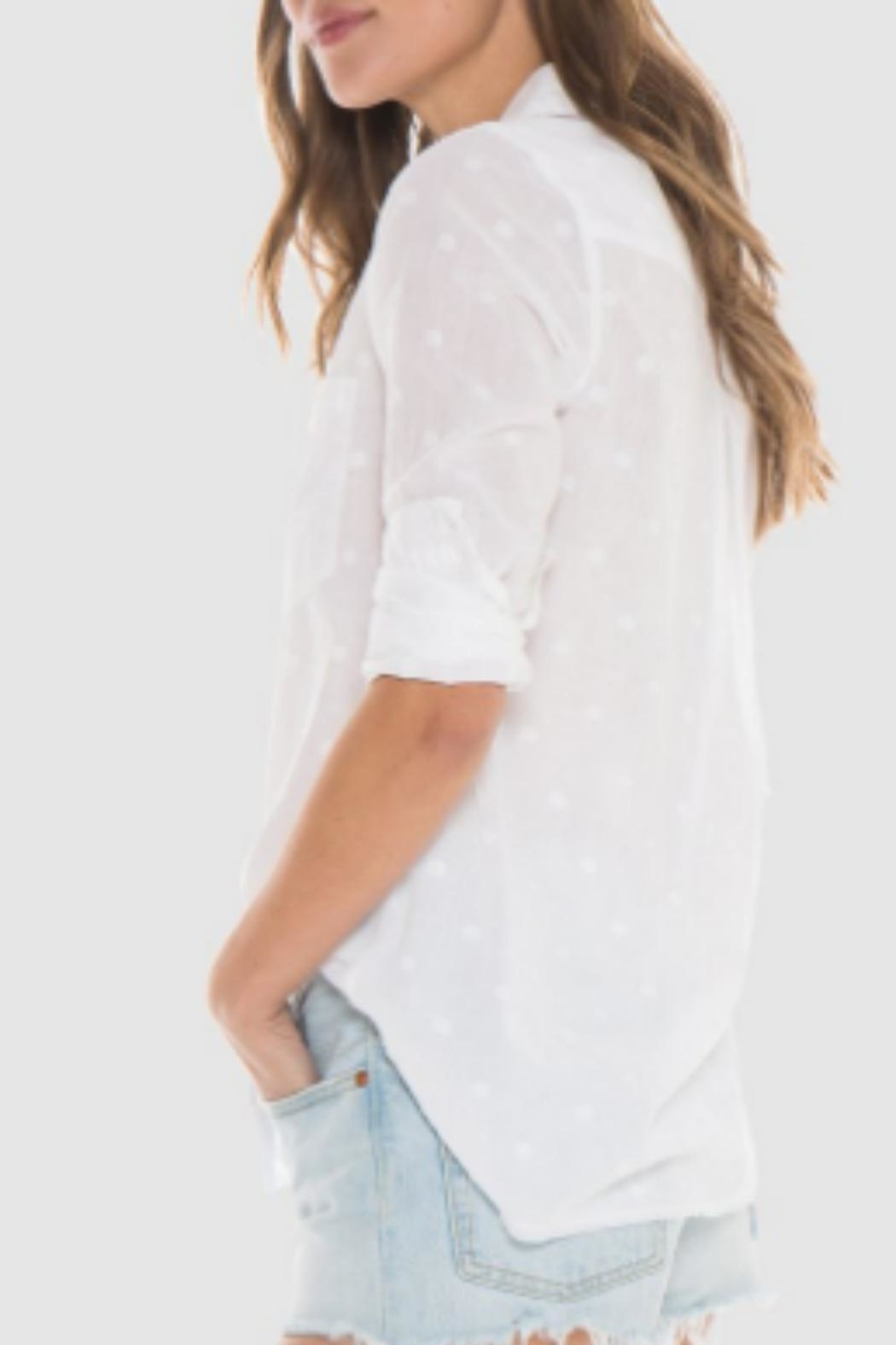 Bella Dahl White Shirt - Front Full Image