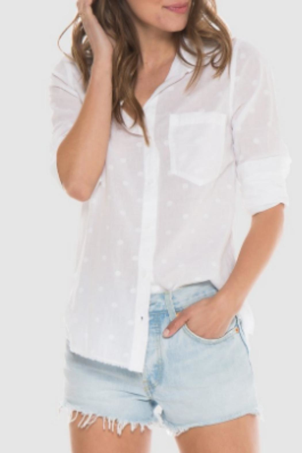Bella Dahl White Shirt - Main Image
