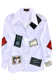 Fashion Week White Shirt Appliques - Product Mini Image