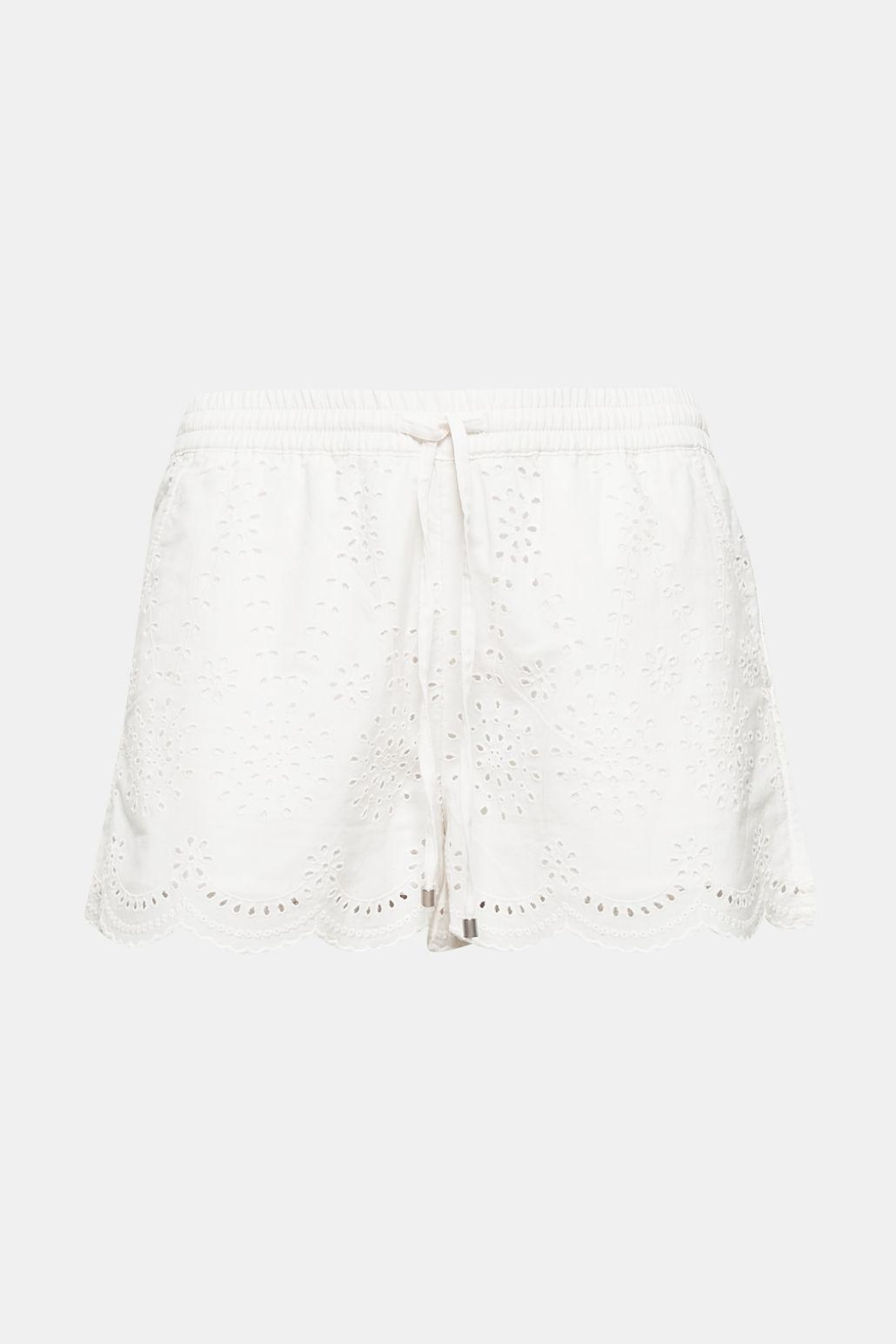 Esprit White Shorts - Front Cropped Image