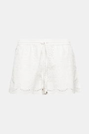 Esprit White Shorts - Front cropped
