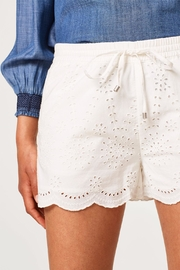 Esprit White Shorts - Front full body