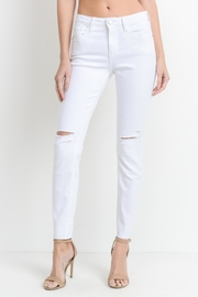 just black White Slit Skinny - Product Mini Image