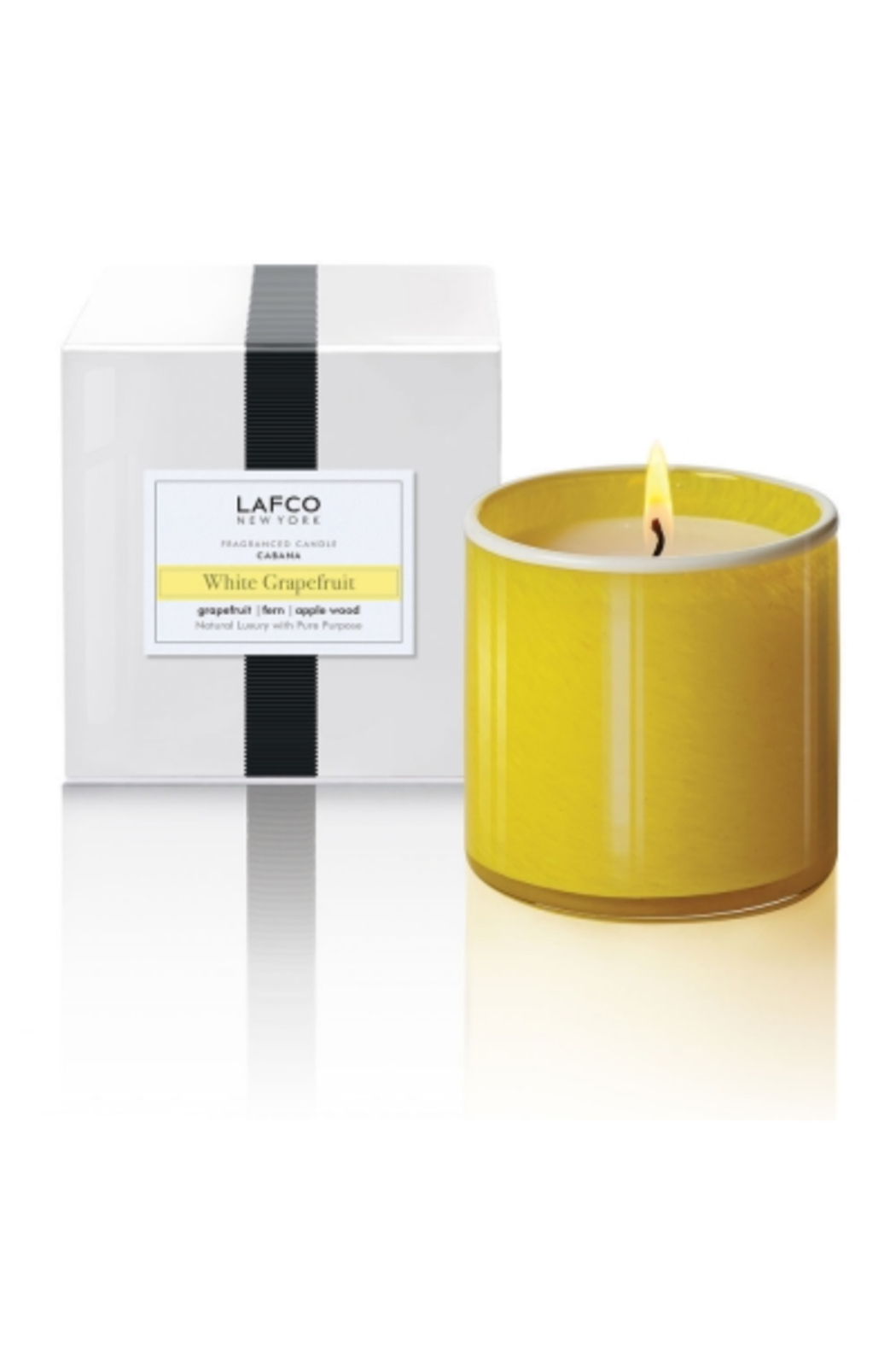Lafco WHITE SNOWDROP CANDLE - Main Image