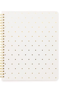 Sugar Paper White Spiral Notebook - Product List Image