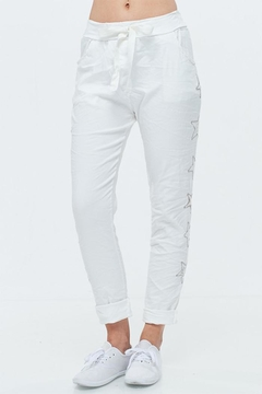 Shoptiques Product: White Star Pants