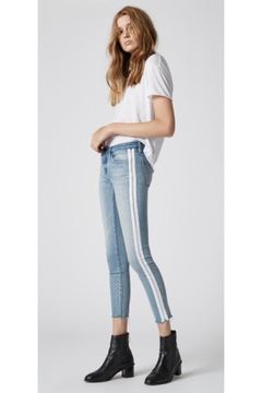 BlankNYC White Stripe Jeans - Alternate List Image