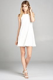 Lazy Sundays White Summer Dress - Front cropped