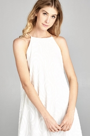 Lazy Sundays White Summer Dress - Side cropped