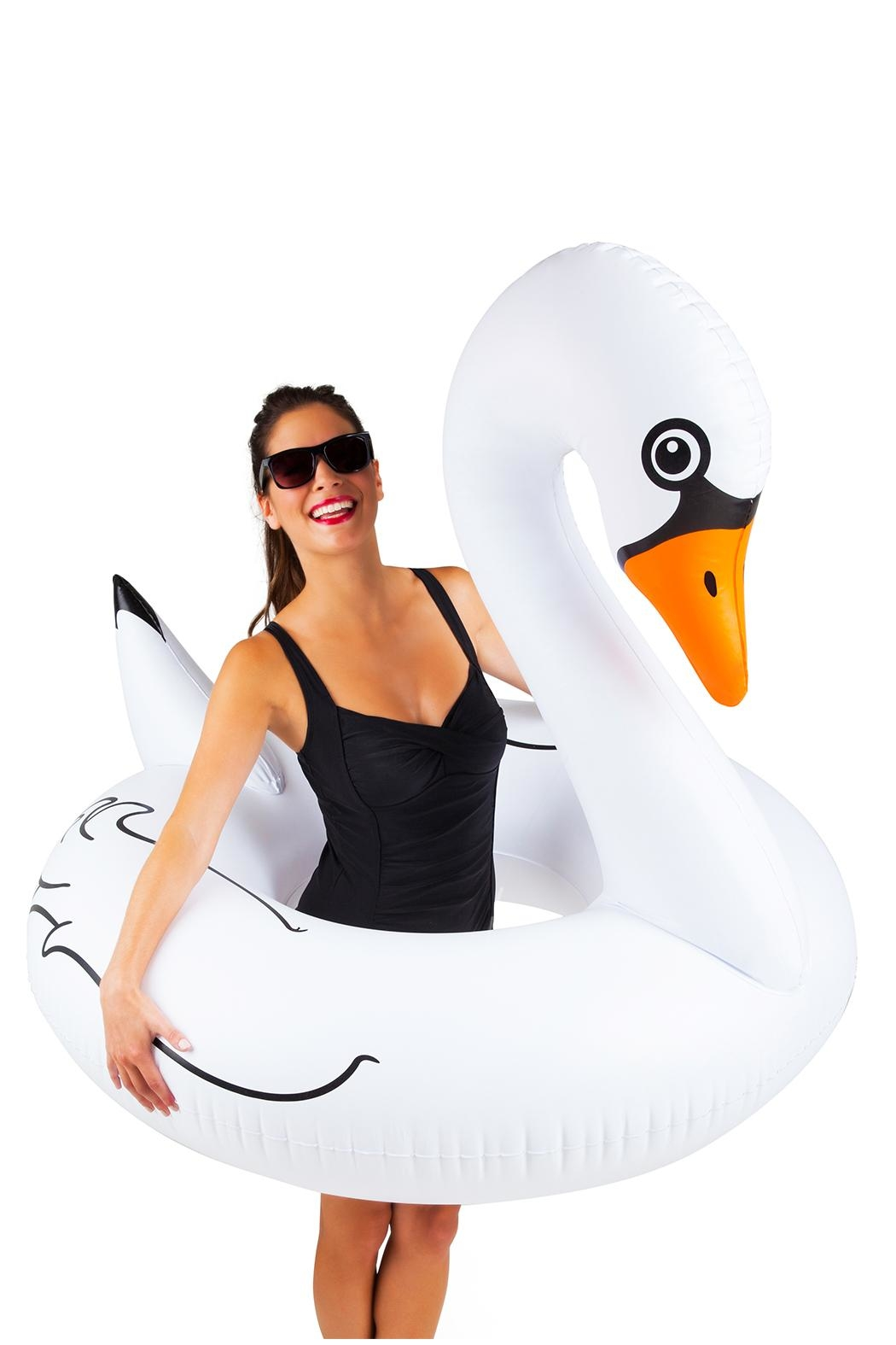 BigMouth Inc White Swan Poolfloat - Main Image