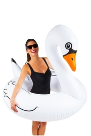BigMouth Inc White Swan Poolfloat - Product Mini Image