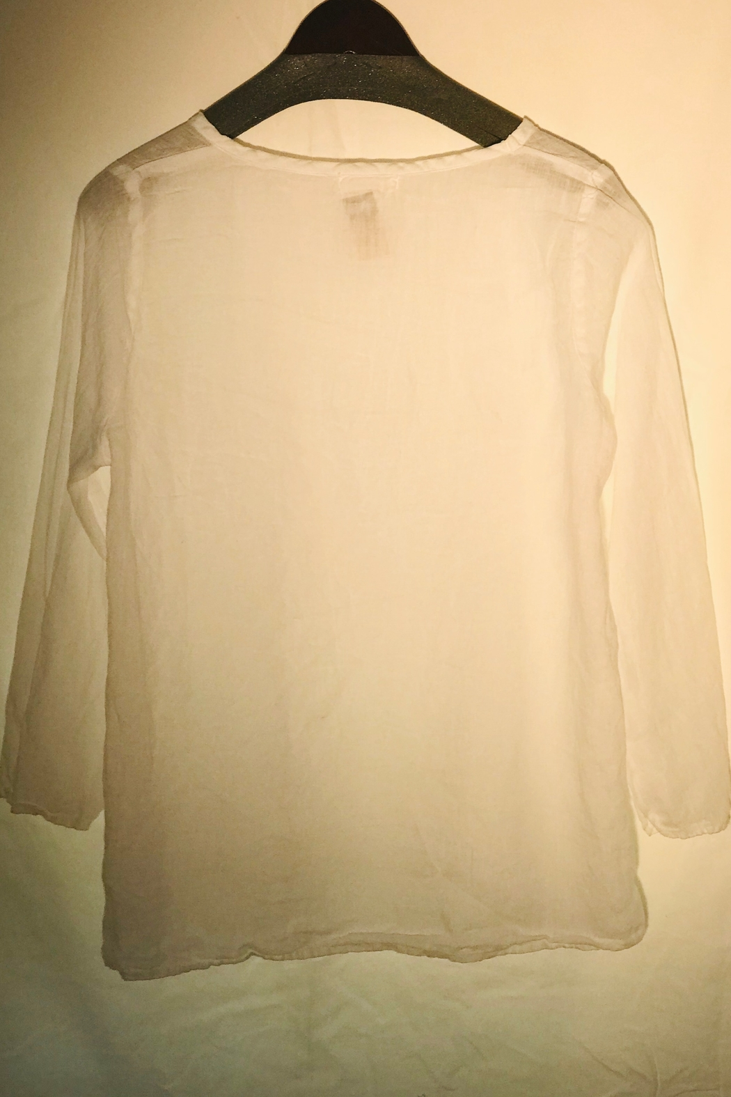 CP Shades White Tea Top - Front Full Image