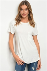 LoveRiche White Tee - Front cropped