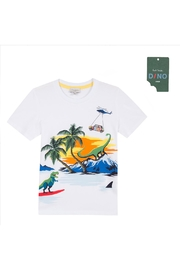 Paul Smith Junior White 'Thimoty' T.Shirt - Front cropped
