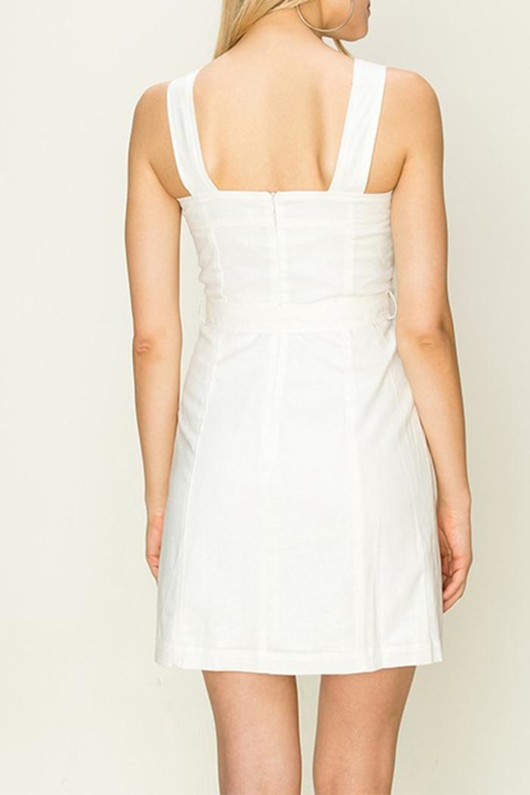 HYFVE White Tie-Front Dress - Side Cropped Image