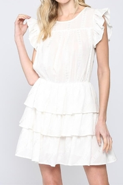 FATE by LFD White Tiered dress - Product Mini Image