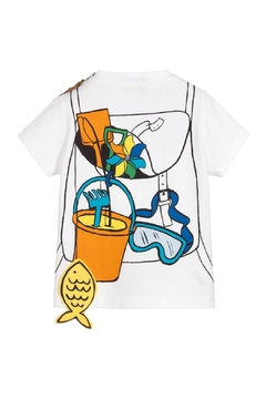 Paul Smith Junior White Tilian T.Shirt - Alternate List Image