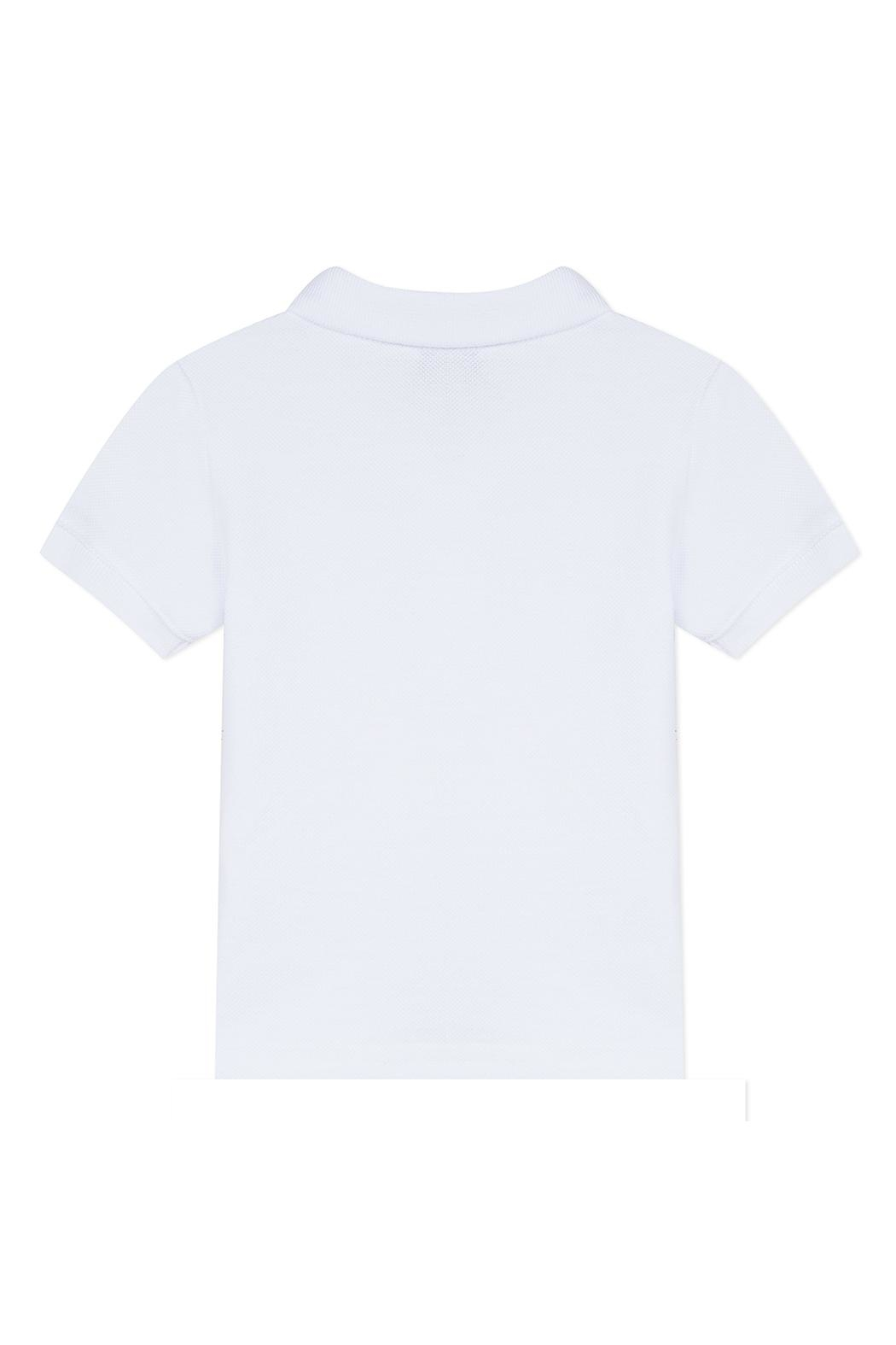 Paul Smith Junior White Toine Polo-Top - Front Full Image