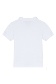Paul Smith Junior White Toine Polo-Top - Front full body
