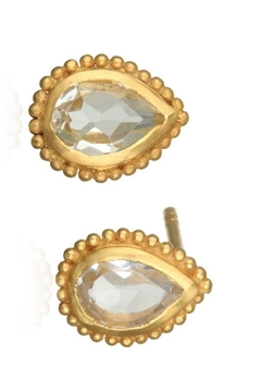 Satya White-Topaz Stud Earrings - Alternate List Image